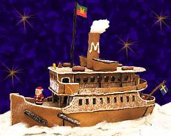 pepparkaksångbåt